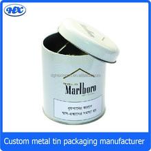 Custom metal tinplate tobacco tin box