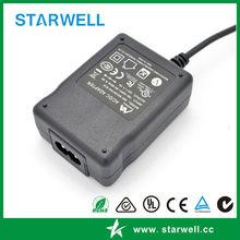 Plug in type & Desktop type power supply 12V 24V 5V UL CE FCC SAA C-tick CB approval