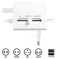 universal+World+Travel+adapter+110v-250v+Ac+Power+Socket+Plug+Adaptor+with+5v+USB+Port+Power+Converter+Freeshipping