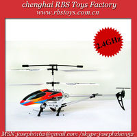 radio control indoor/outdoor 2.4G electronic gyro heli rc helicopter