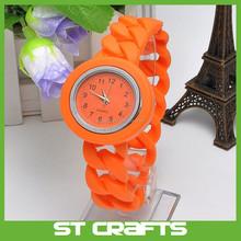 ST New fashion European style watches ladies fashion watch silicon women watches