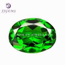 Wholesale natural oval green diopside
