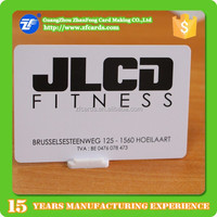 CR80 Magnetic Stripe Gym Swipe Card with Barcode