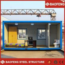 PU sandwich panel shipping container house prefab
