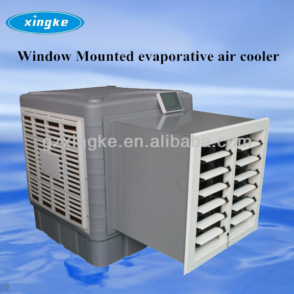 Evaporative Water Cooler : M h lcd touch screen water evaporative air cooling