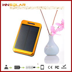 12000mah universal portable lipstick emergency mobile phone charger for laptop solar charger