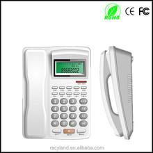 IDD key lock telephone cord office caller id telephone