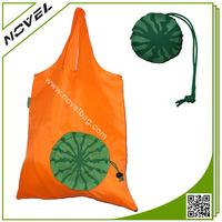 Made in China fashion cheap watermelon folding shopping bag