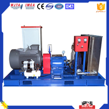 Electric Mobile Water Jet Cleaning Machine Mud System Cleaning