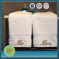 Wholesale High Quality Terry Embroidered Bath Towels 100% Cotton