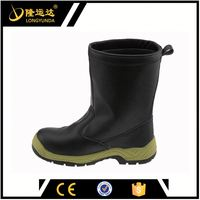 Top Glazed Leather, European last, Men's Work Boot /Safety Shoes / Safety boots oil and slip resistance men's safety shoes