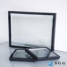 Excelent quality low e glazed double sided glass float frame