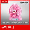 summer rechargeable battery powered table fan usb fan