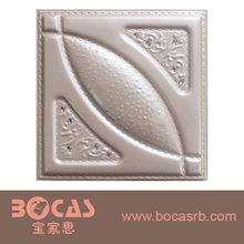 BOCAS 3d wall decor panel walls and ceiling decorative producted by leather