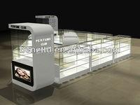 Cosmetic kiosk design for Canada perfume shop, new perfume kiosk design 2015