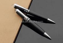 office supplies metal twist black personalised logo pen