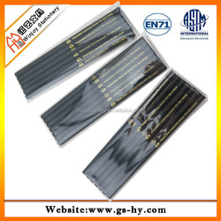 cheap price high quality black wooden hb pencils in bulk