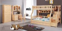 Cheap Solid Wooden Bunk Bed Children Furniture