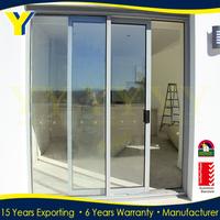 Australia standard double glazing aluminium door sliding