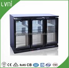 LVNI 200L,stainless steel back bar beer cooler/desktop drink cooler