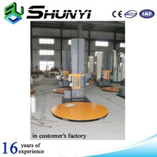 Automatic wooden door film wrapping machine