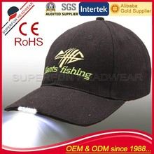 professional producing chinese led baseball cap