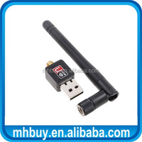 150Mbps Mini USB WiFi Wireless Adapter With Antenna 802.11N/G/B Network LAN Card