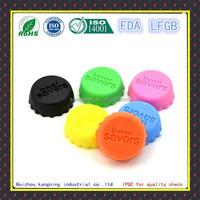 Soft heat resistant silicone milk bottle caps