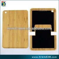 for ipad mini real wooden bamboo case