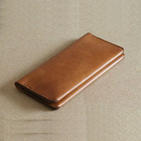 Genuine Leather Wallet Case for iPhone 5s Wholesale Cell Phone Case