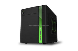 new slim cube micro ATX computer case,cheap PC cube case,computer cube case with tool free