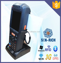1 d, 2 d handheld barcode scanner data manager with the printer