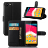 Luxury Desing PU leather flip cover case for Wiko RAINBOW JAM Mobile Phone Accessories