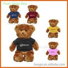 Brinquedos macios de pelúcia urso de pelúcia barato com muitas cores