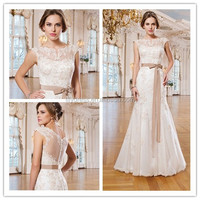 Patterns Bateau Crystal Made To Order 2015 Apparel Accessories Sleeveless MM-1444 Elegant Sexy Mermaid Wedding Dress