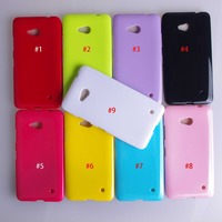 Candy Color Silicone TPU Gel Soft Cover Case For Nokia Lumia 640