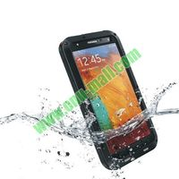 Silicone Hybrid waterproof case for samsung galaxy note 3