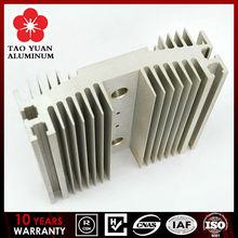High quality fluorocarbon led aluminium heat sink