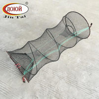 Folding Metal Fish Trap for Crab,Lobster,Eel,Fish