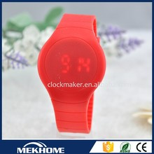 Hot Selling Cheap Ladies touch screen LED hand locket watch