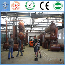 Best Quality Control No Pollution Used tyre plastic recycling machine making waste to oil/diesel