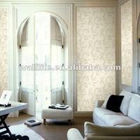 Home decorative fashion design non-woven wallpaper for wall decoration