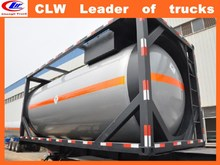 China ASME ISO 20feet Asphalt tank container Lpg container tanker 40ft Diesel delivery tanker container