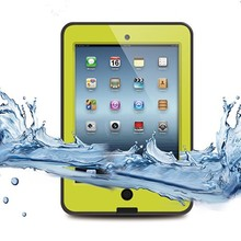 Yellow Waterproof Cover Case for Ipad Mini