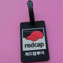 Luggage Tags Business Card Holder Travel ID Bag, 3D logo baggage tag