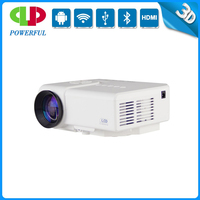 2015 Low wholesale Price hot sale fashion gift lcd led portable projector mini low power consumption led lcd