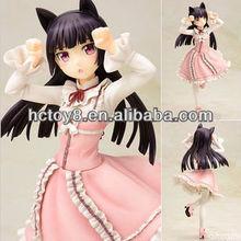 Comercio al por mayor de dibujos animados japonesa Anime Sexy Girl PVC actcion figura de juguete
