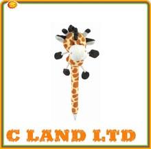cute animal shaped pen plush pen