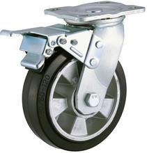 42-0015 trolley castor wheel price medical rubber scaffold wheels and castors heavy duty castor wheel