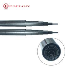 Poids léger en fiber de carbone télescopique tube